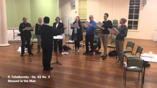 The Consort of Melbourne in Rehearsal