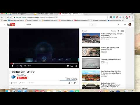 How to embed a YouTube Video into a Google Slide Presentation