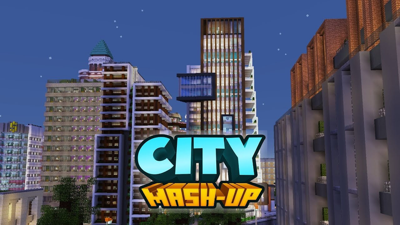 Map New York Minecraft Xbox.City Mash Up Pack Minecraft Marketplace Map