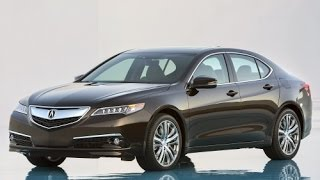 2015 Acura TLX Start up and Review 3.5 L V6