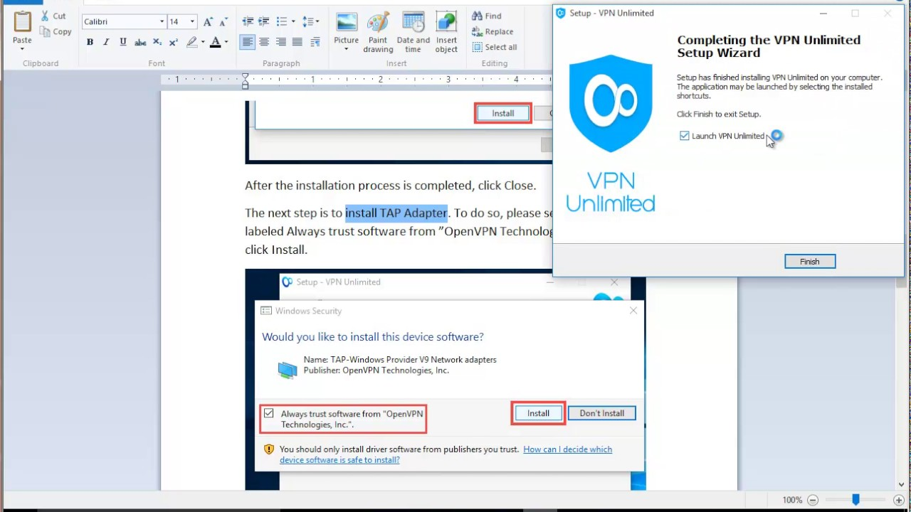 how to add vpn on windows 10