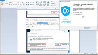 Set up KeepSolid VPN Unlimited on Windows 10