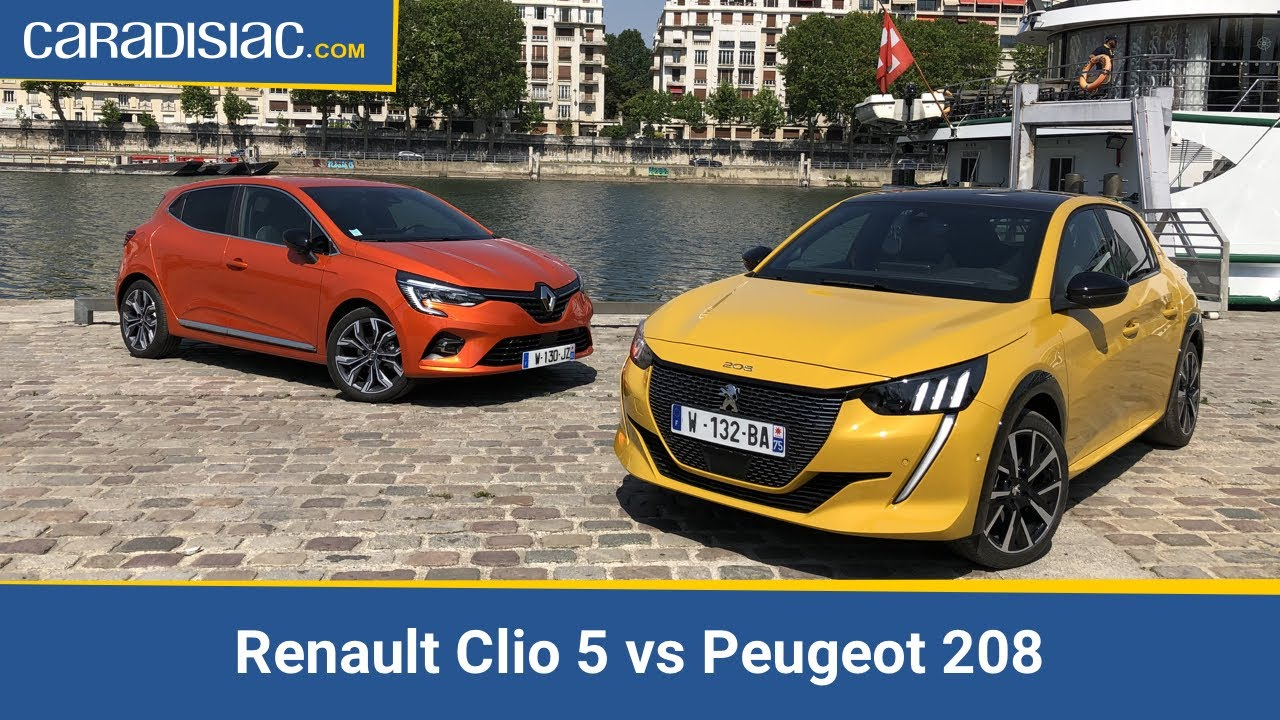 Download Renault Clio 5 vs Peugeot 208 : le match de l'année