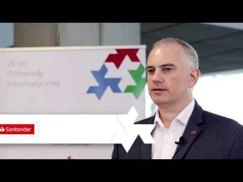 25 lat Olimpiady Informatycznej - wywiad z R.Chudy, Santander Bank Polska
