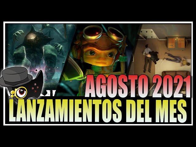 LOS MEJORES VIDEOJUEGOS PARA AGOSTO 2021 -LISTA DE LANZAMIENTOS-
