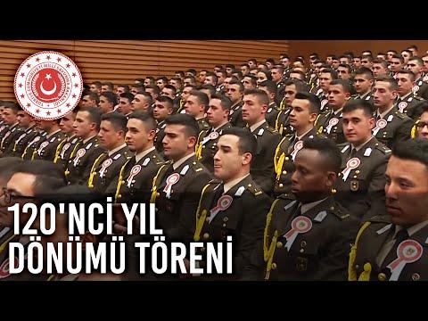 Atatürk'ün Kara Harp Okulu'na Girişinin 120'nci Yıl Dönümü Töreni