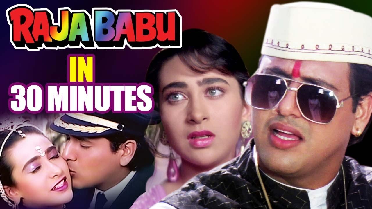 Hindi Comedy Movie  Raja Babu  Showreel  Govinda -5120
