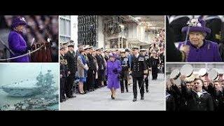 Her Majesty unveils £3.1billion HMS Queen Elizabeth for Royal Navy-news24h