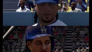 MLB 10 The Show vs. MLB 2K10 Face Comparison