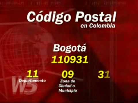 Colombia estrena sistema de c digo postal youtube for Code postal de vesoul