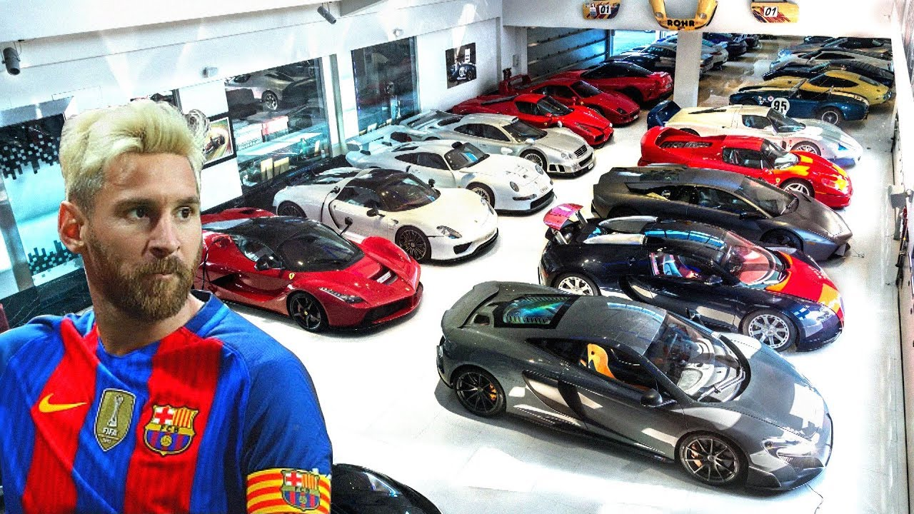 Lionel Messi's Car Collections ★ 2018 - YouTube