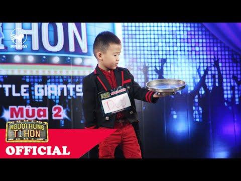 """Người Hùng Tí Hon mùa 2   Màn trình diễn """"vi diệu"""" của ảo thuật gia 5 tuổi Nguyễn Tấn Thành"""