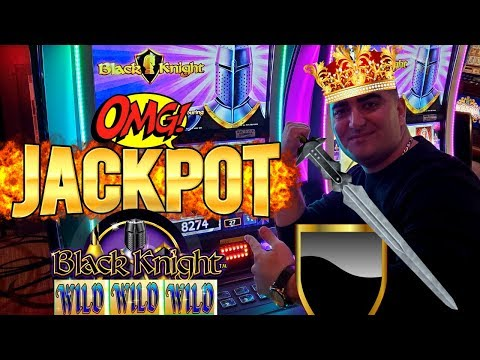 High Limit Black Knight Slot Machine BIG HANDPAY JACKPOT | Live Slot Play In High Limit Room