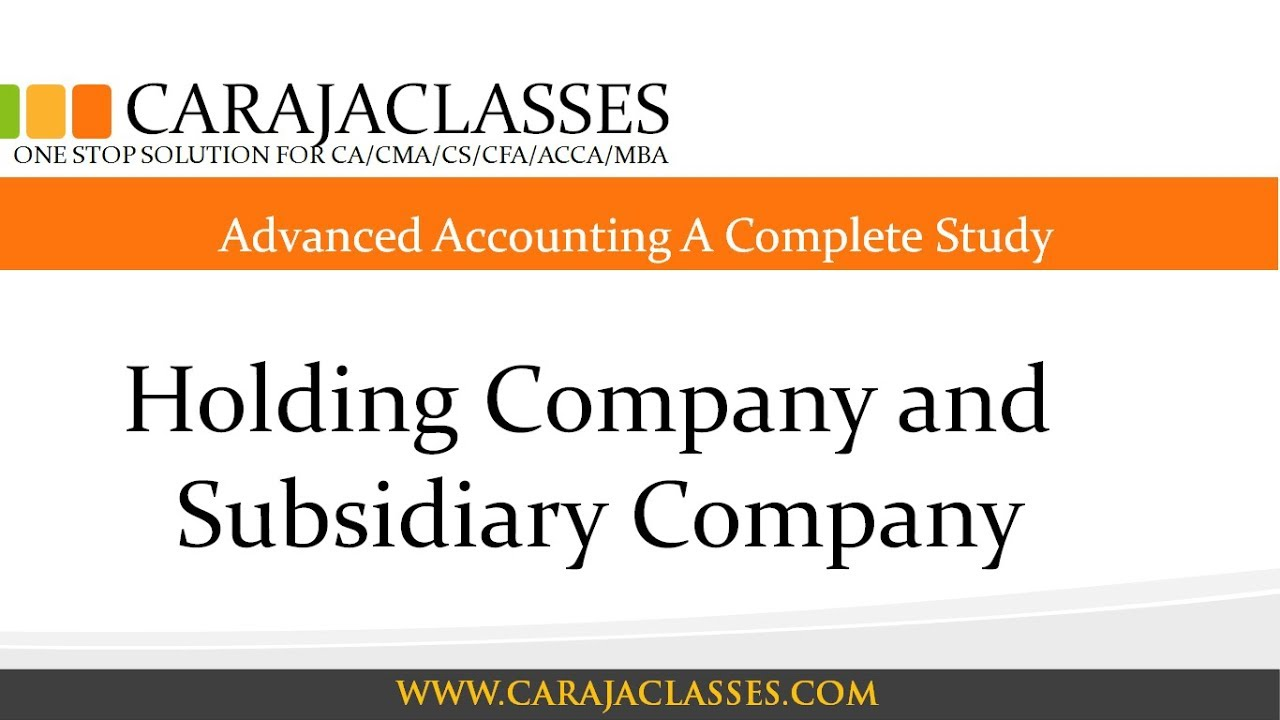relationship between holding companies and subsidiaries and A subsidiary, subsidiary company or daughter company is a company that is owned or controlled by another company, which is called the parent company, parent, or holding company [4] [5] the subsidiary can be a company, corporation , or limited liability company.