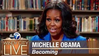 "Michelle Obama discusses her new book ""Becoming"" - Part I"
