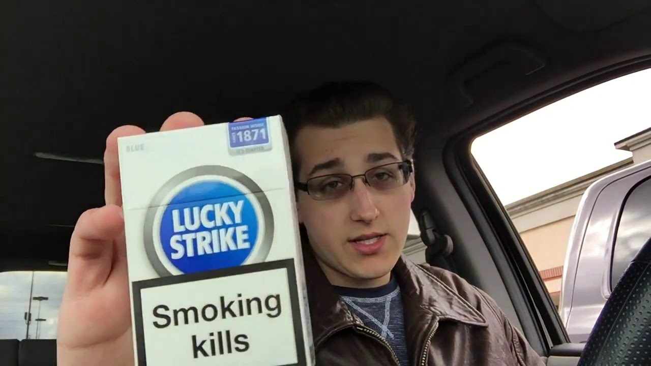 NickTheSmoker - Lucky Strike Blue