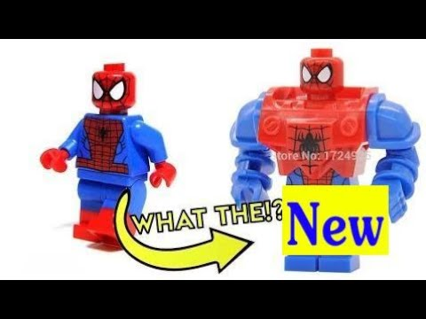 CRAZY FAKE LEGO - Official Minifigures VS Chinese Knock Offs | Kids ...