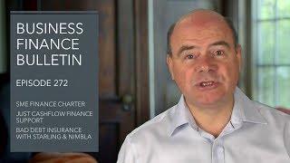 SME Finance Charter, Just Cashflow Flexible Finance and Bad Debt Insurance - BFB 272