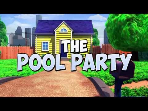 "The Adventures of Burnie and Earl presents ""The Pool Party"""