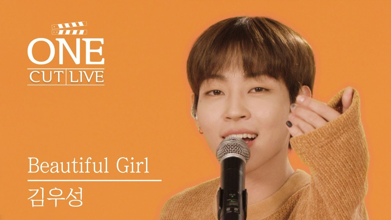 Download [4K] 김우성 (WOOSUNG) - Beautiful Girl (Feat. 프니엘 of 비투비)   원컷라이브   ONECUT LIVE