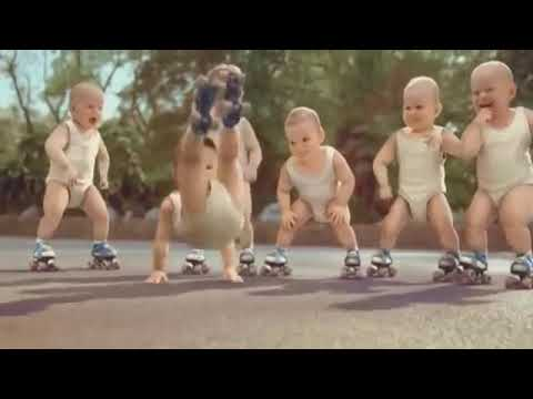 Char char bangdi| Mara veera tane ladi-famous Gujarati garba song funny dance video of babies