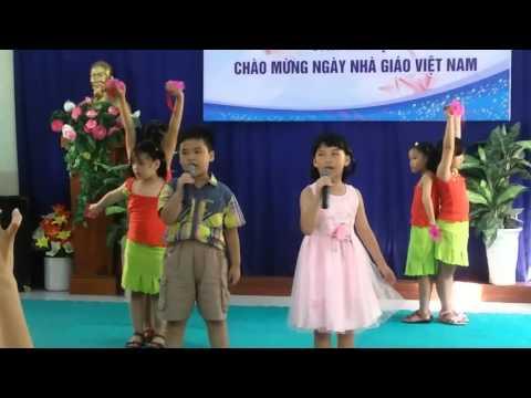 Bong hong tang co lop 21 truong tieu hoc tan huong