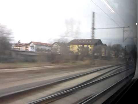 öbb Railjet Rj660 Salzburg To Innsbruck Via Rosenheimd Youtube