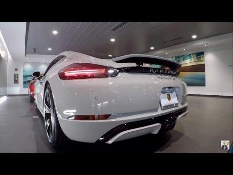 2018 Chalk Porsche 718 Cayman S 350 hp @ Porsche West Broward