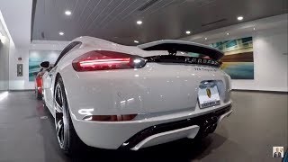2018 Chalk Porsche 718 Cayman S 350 hp @ Porsche West Broward