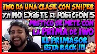 ¨MISTICO EL CACHA PRIMAS¨ IWO DA UNA CLASE CON SNIPER E INNOVA CON DOBLE POSICIÓN 4!!! -DOTA 2