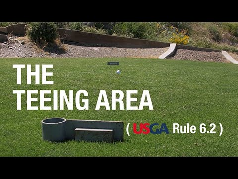 April 2020 Rule Of The Month: The Teeing Area