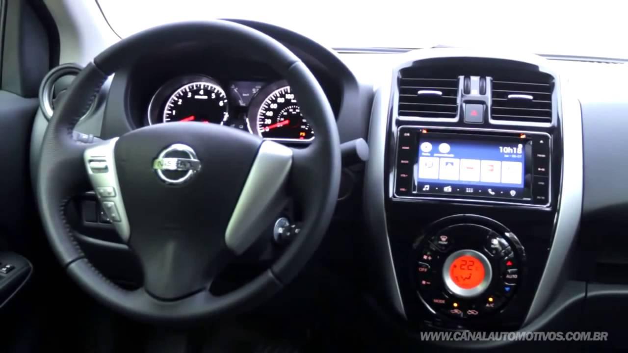 Novo Nissan Versa 2017 C Tudo Sobre Carro