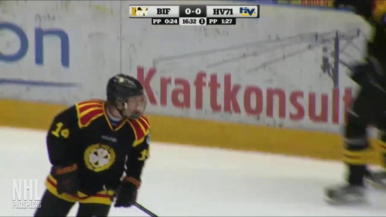 rasmus sandin 1g vs hv71 j20 jan 29 2017