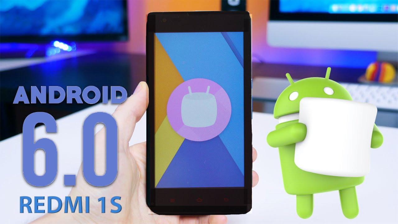 CM13 Android Marshmallow on Xiaomi Redmi 1S!