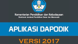 Video Cara install dapodik versi terbaru 2017 lengkap dengan langkah registrasi online download MP3, 3GP, MP4, WEBM, AVI, FLV November 2017