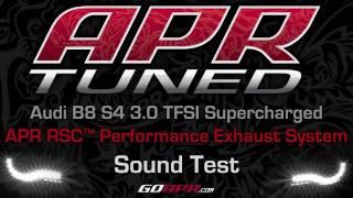 Teaser: APR Audi B8 S4 RSC Exhaust System