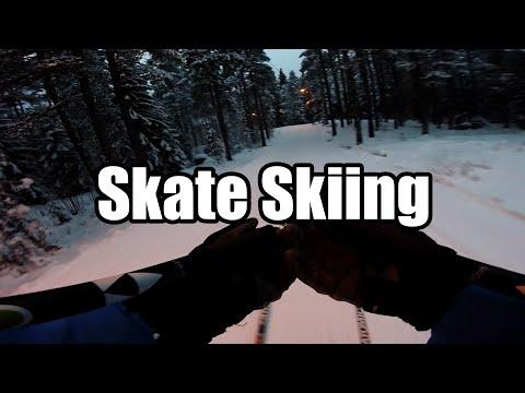 Cross Country Skate Skiing in Finland, Leppävaara