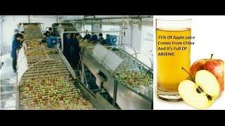 USA КИНО 1056. Китайские яблоки в американском яблочном соке