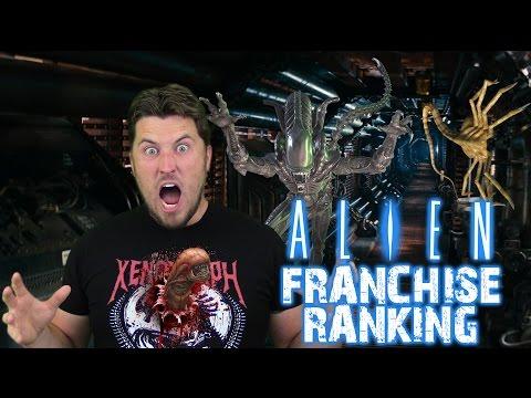 Ranking the Alien Franchise Worst to Best (w/ Alien: Covenant)