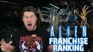 Ranking the Alien Franchise Worst to Best (w/ Alien: Covenant)