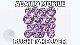 AGARIO RUSH HIGH SCORES (Agar.io Mobile Takeover)