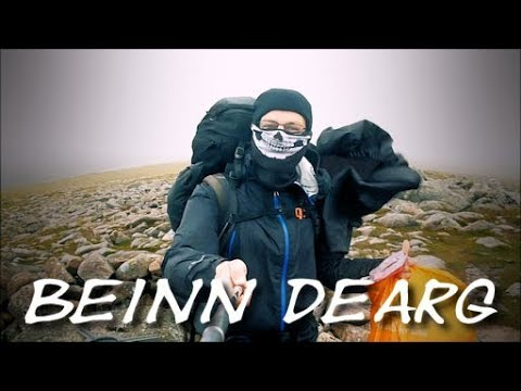 Braemar to Pitlochry via Blair Atholl - Part 3 (Beinn Dearg)