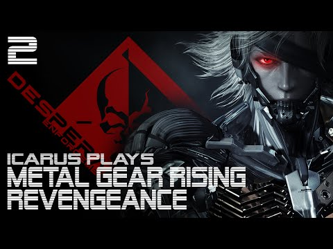 Icarus Plays Metal Gear Rising: Revengeance - 2 - Cold Wind of France