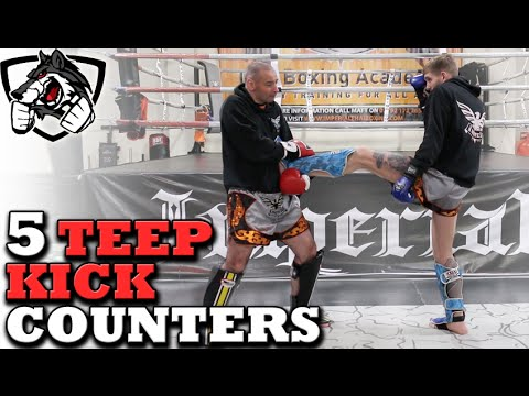 5 ADVANCED Muay Thai Front Kick Counters | Not For Beginners!