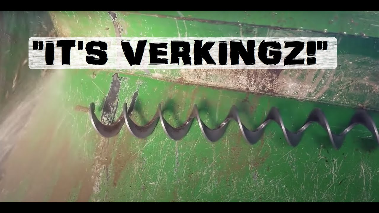 Tractor mixer better than shovel? *YES* Slop-Slinger 9000!