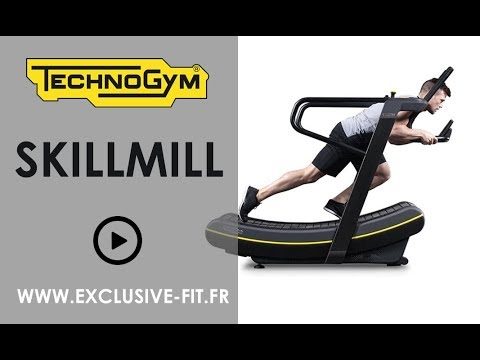 Tapis De Course Technogym Skillmill Youtube