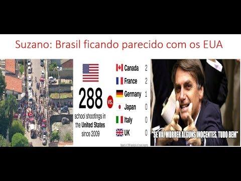 Tragédia de Suzano: Brasil ficando parecido com o pior dos EUA