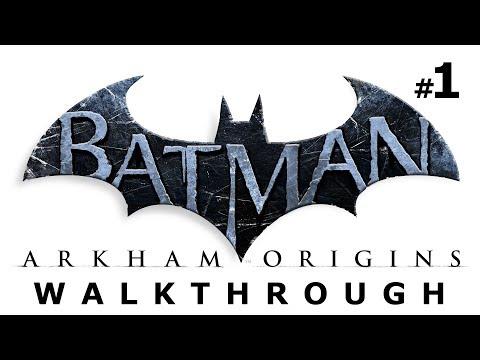 Batman: Arkham Origins Walkthrough Part 1