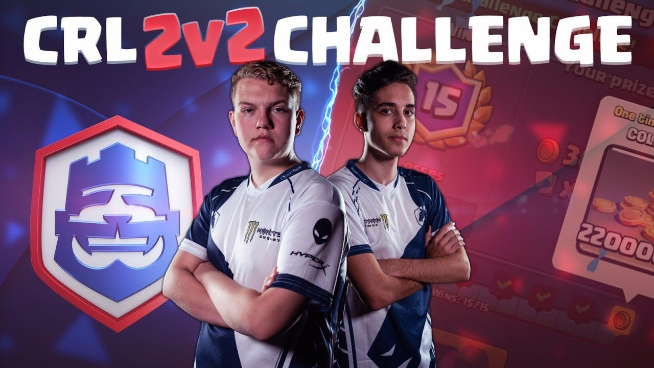 BEST DECKS? CRL 2v2 Challenge 15 Wins LIVE Gameplay w/ DiegoB - Clash Royale