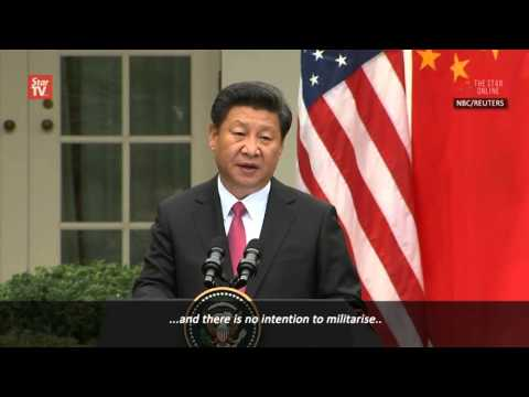 Xi: China committed to resolving South China Sea disputes peacefully